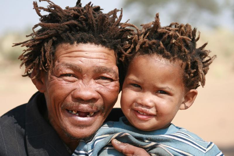 Online - Afrika Aborjinleri: Khoi-San Kabilelerine Yolculuk