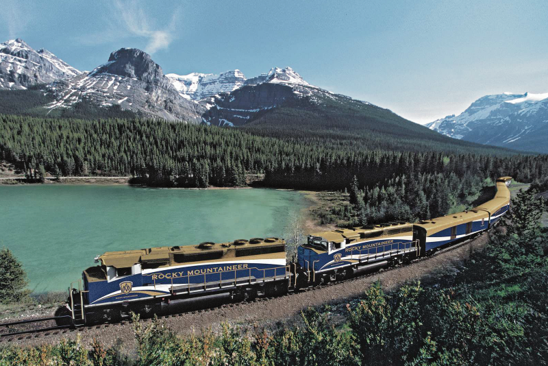 Online - Trenle Trans-Kanada / Tıngır Mıngır Dünya